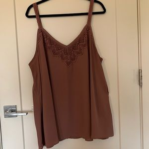 Walnut colored Tank Top from Torrid